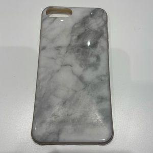 iPhone 8 Plus marble look phone case